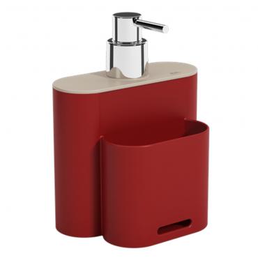 Dispenser 500ml Flat - Vermelho