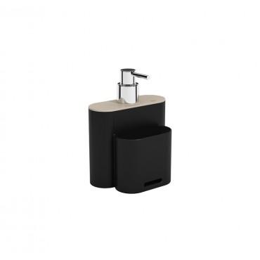 Dispenser 500ml Flat - Preto