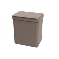 Lixeira 2,5l Warm Gray Single - Cinza