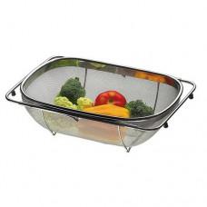Cesto para Lavar Frutas e Verduras Aço Inox