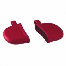 Conjunto de Luvas para Panela silicone Vermelho