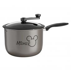 Pipoqueira Alumínio 5,5 Litros Disney Mickey Cinza