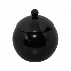 Açucareiro 300gr de Cerâmica Colonial Preto
