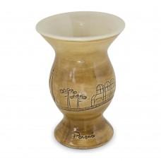 Cuia Paraná Baixo Relevo 350ml Cerâmica