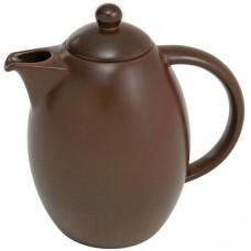 Bule 1,5 Litros de Cerâmica Cookware Colonial Chocolate