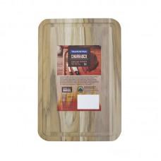 Tabua p/ churrasco Retagular  34cm x 23cm
