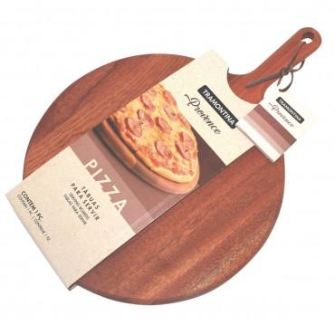 Tábua para Pizza 42cm Provence em Mogno Africano