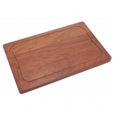 Tábua para Corte Retangular 40 cm Madeira Jatobá