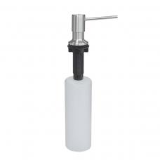 Dosador de Sabão em Aço Inox com Recipiente Plástico 500 ml