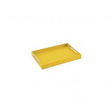 Bandeja 60cm x 40cm Amarela Design Collection