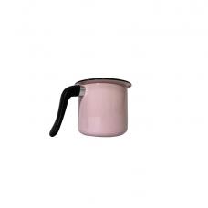 Canecão Fervedor 12cm Esmaltado Rosa - BABY