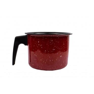 Canecão Fervedor 1,8 litros Esmaltado - Vermelho