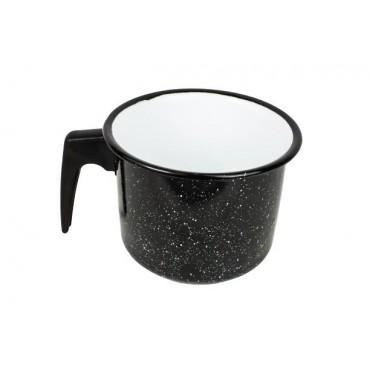 Canecão Fervedor 1,8 litros Esmaltado - Preto