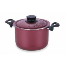 Espagueteira Alumínio 24 cm PARIS Vermelho