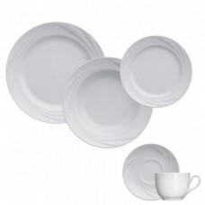 Aparelho de Jantar e Chá 30 Peças Porcelana Moinho Germer