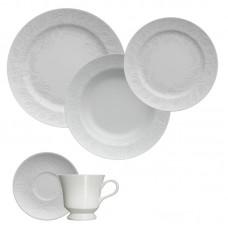 Aparelho de Jantar e Chá 30 peças Porcelana Folk Germer