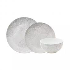 Aparelho de Jantar Porcelana 18 peças Baobá