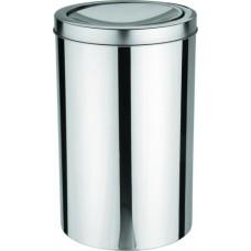 Lixeira Aço Inox com Tampa Basculante 20 Litros