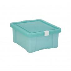 Caixa Organizadora 17 litros Turquesa