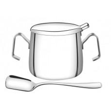 Açucareiro Aço Inox Com Pá COFFEE AND TEA