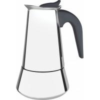 Cafeteira Expressa Italiana Aço Inox 350 ml COFFEE AND TEA