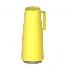 Bule Térmico Ampola de Vidro 1 L Exata Amarelo