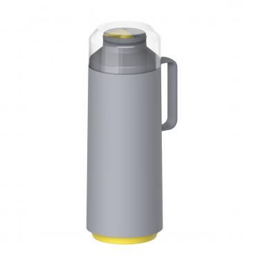 Garrafa Térmica 1 litro em Polipropileno Cinza EXATA