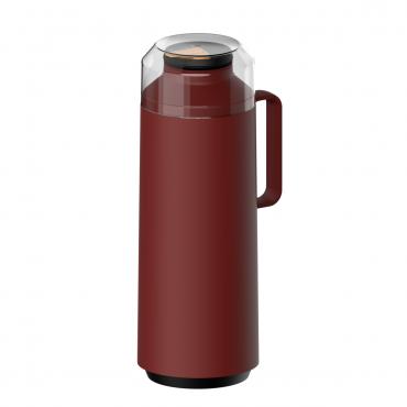 Garrafa Térmica 1 litro em Polipropileno Vermelho EXATA