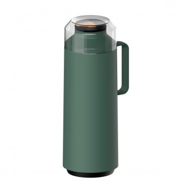 Garrafa Térmica 1 litro em Polipropileno Verde EXATA